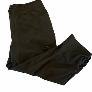 WINDRIVER Charcoal Cargo Cropped Capri Pant 10